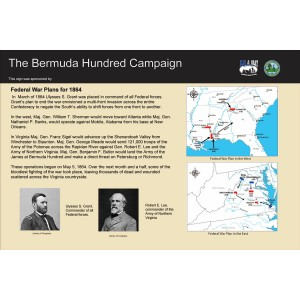 Actions in the East - Bermuda Hundred Campaign